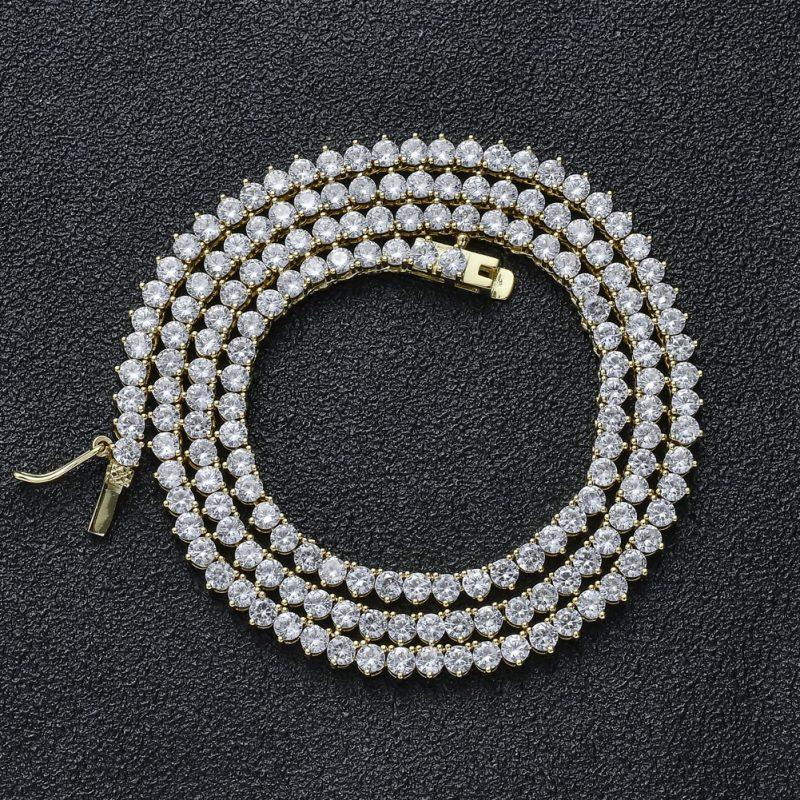 3 Prong Tennis Chain 1