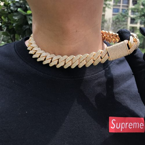 ICED out harlex gold cuban chain 19mm white gold 1 harlex gold scaled