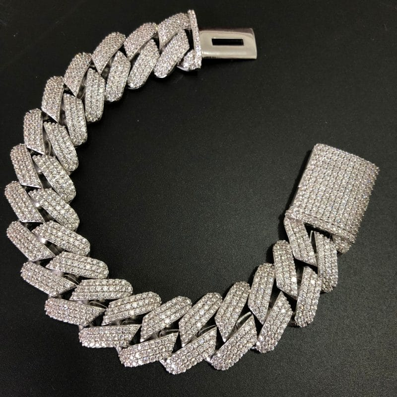ICED out harlex gold cuban chain 19mm white gold scaled