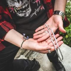 Diamond Cross Necklace 3