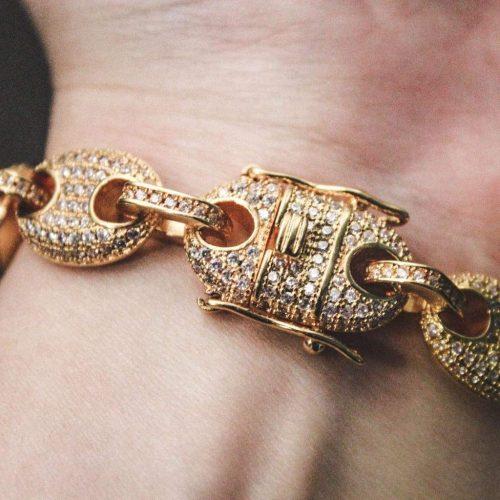 diamond gucci link bracelet 18k gold 6ix ice 856 1024x