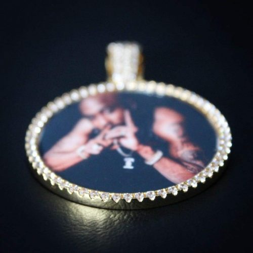Diamond Custom Photo Pendant 5