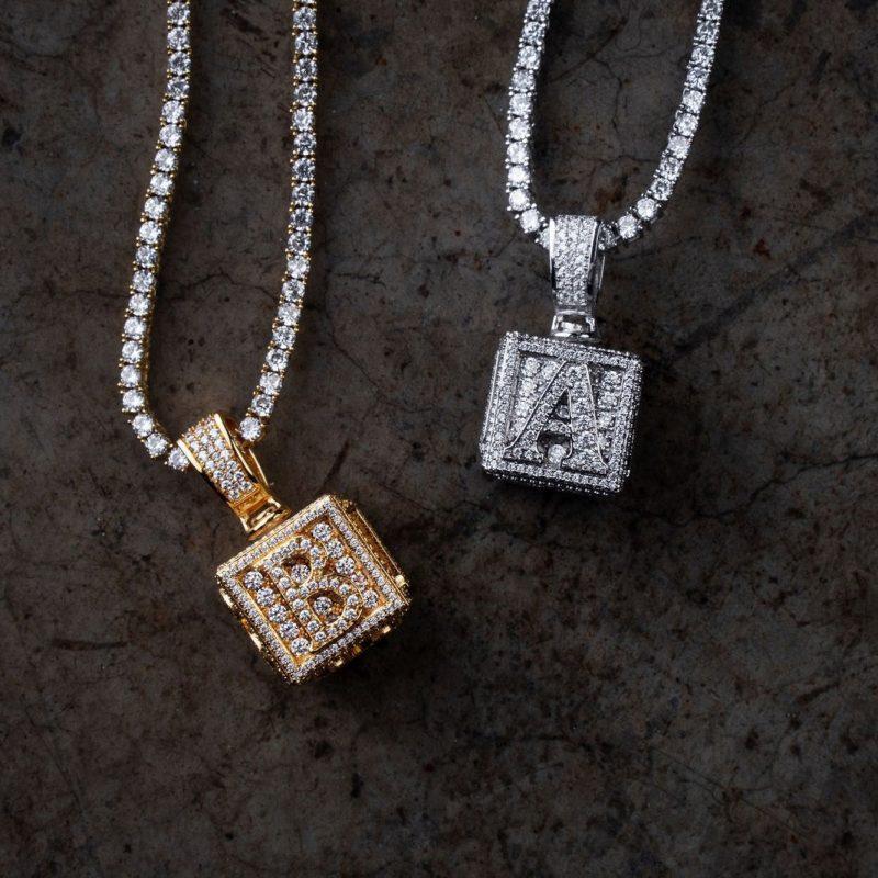 Extra Custom Inital for custom pendants 1