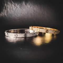 Iced Band Bracelet 1
