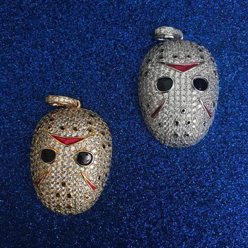 Iced Jason Mask Pendant-Harlex-Harlex