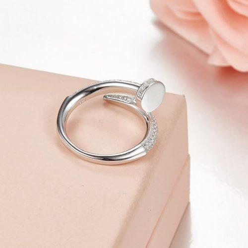 Iced Nail Women's Ring-Harlex-Harlex