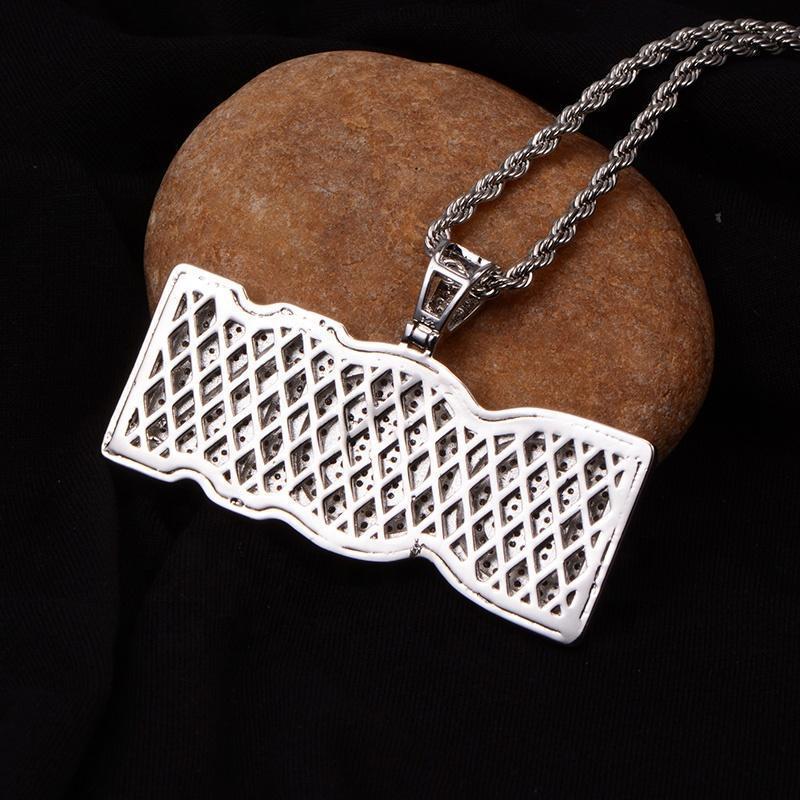 iced out custom letter pendant harlex gold 3