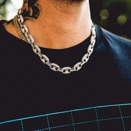 iced out gucci link in white gold harlex 2