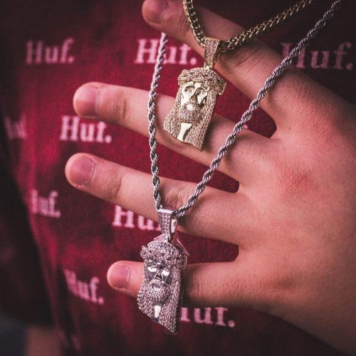Jesus Pendant Necklace-Harlex-Harlex