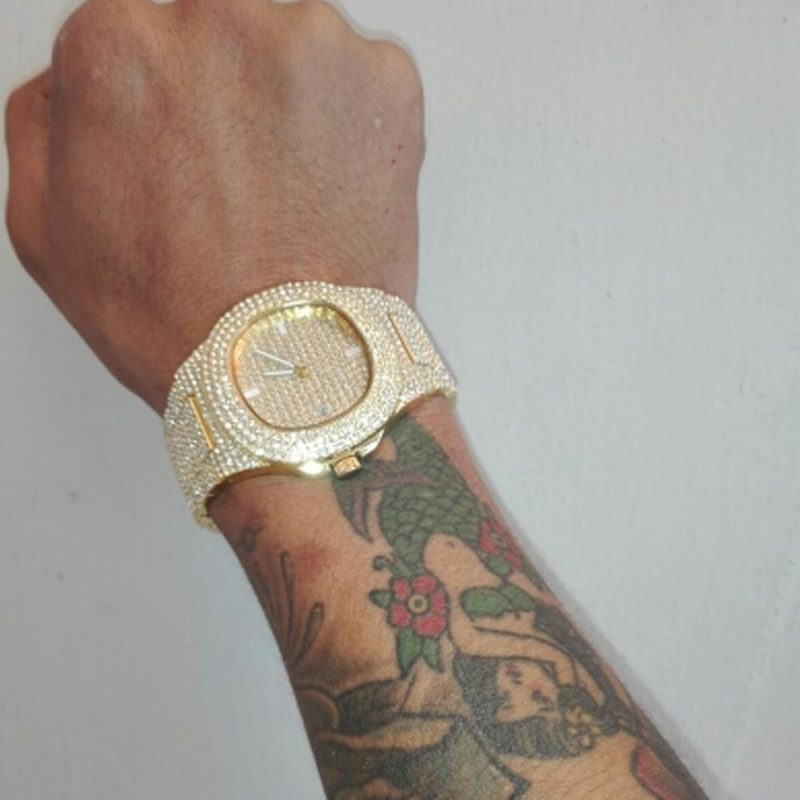 Nautical Watch | Yellow Gold-Harlex-Harlex