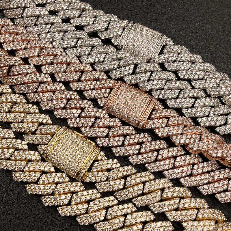 rose gold cuban link chain