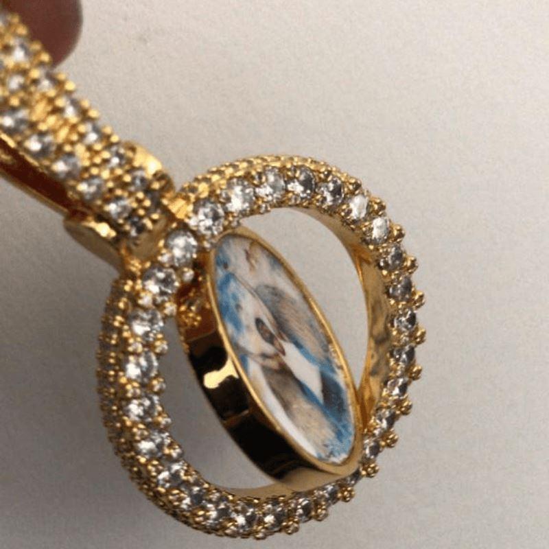Spinning 2-Faced Custom Picture Pendant-Harlex-Harlex