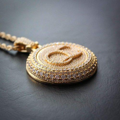 Spinning Diamond QC Custom Necklace 15