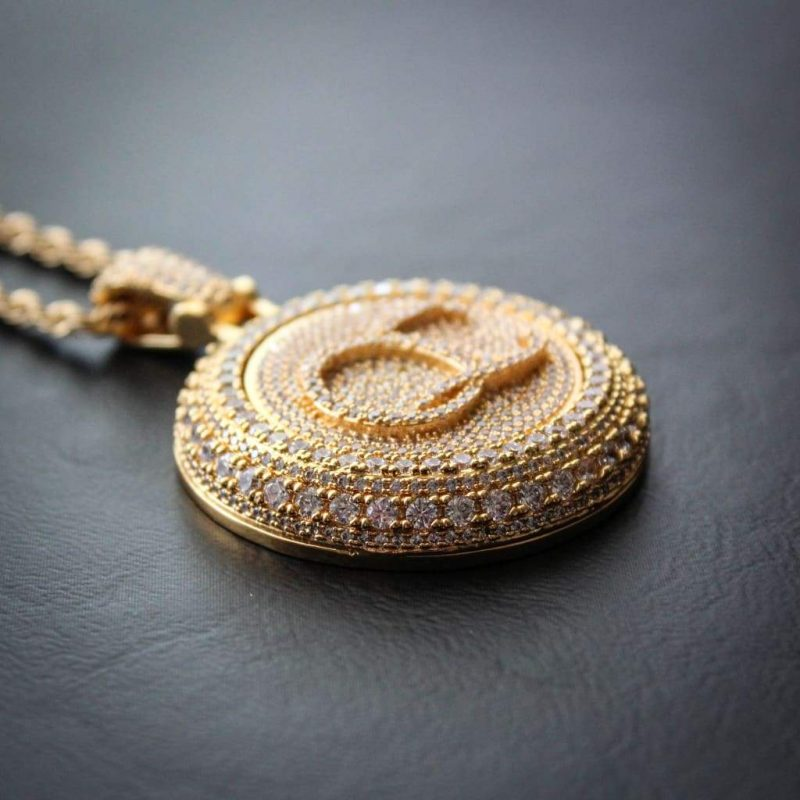 Spinning Diamond QC Custom Necklace 8