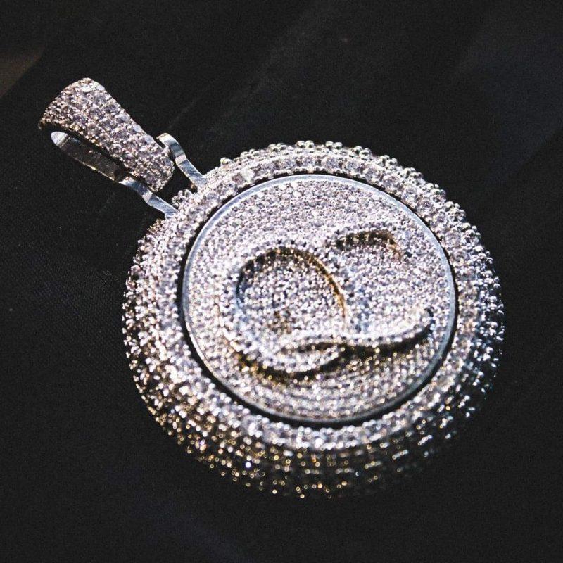 Spinning Diamond QC Custom Necklace 2