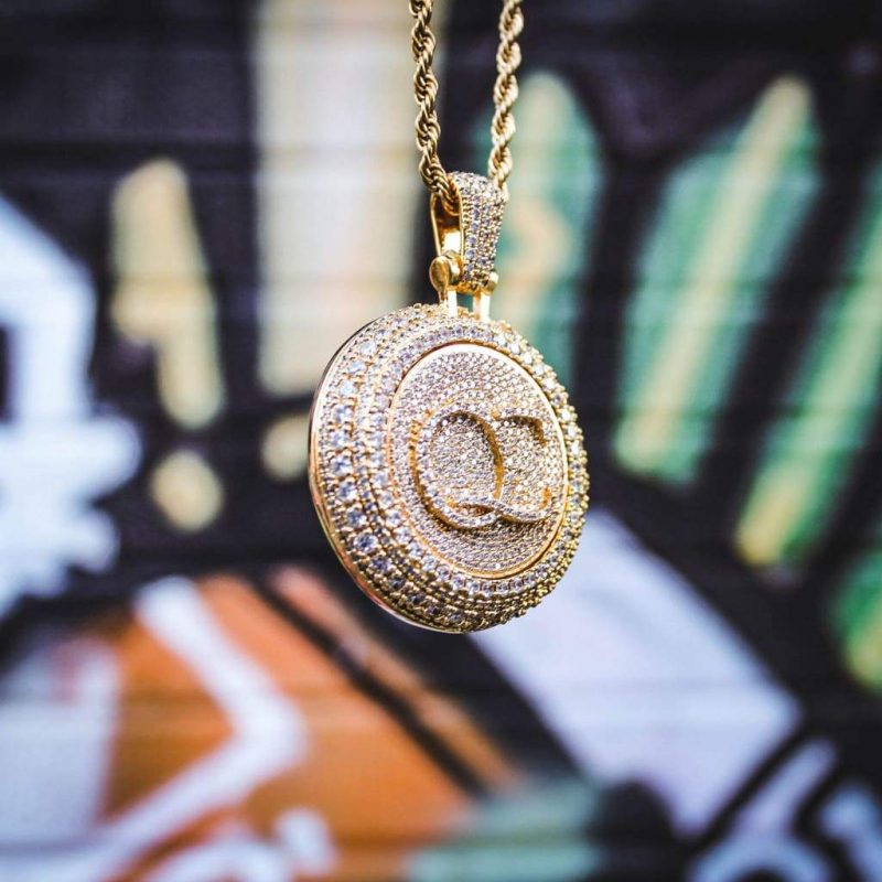 Spinning Diamond QC Custom Necklace 1