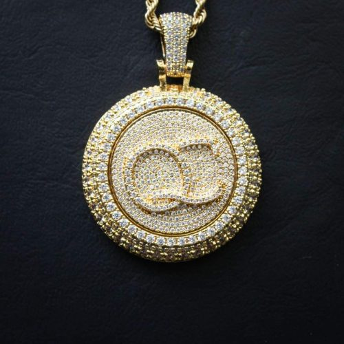 Spinning Diamond QC Custom Necklace 11