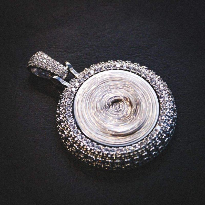 Spinning Diamond QC Custom Necklace 5