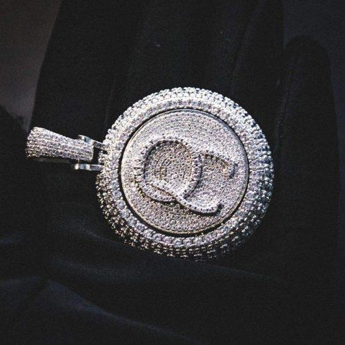 Spinning Diamond QC Custom Necklace 14