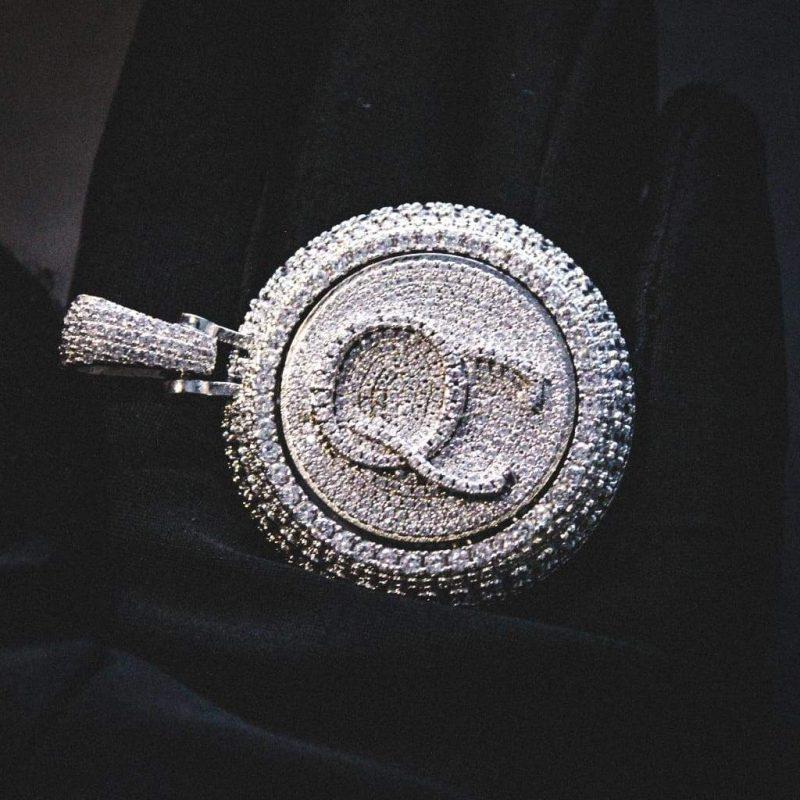 Spinning Diamond QC Custom Necklace 7